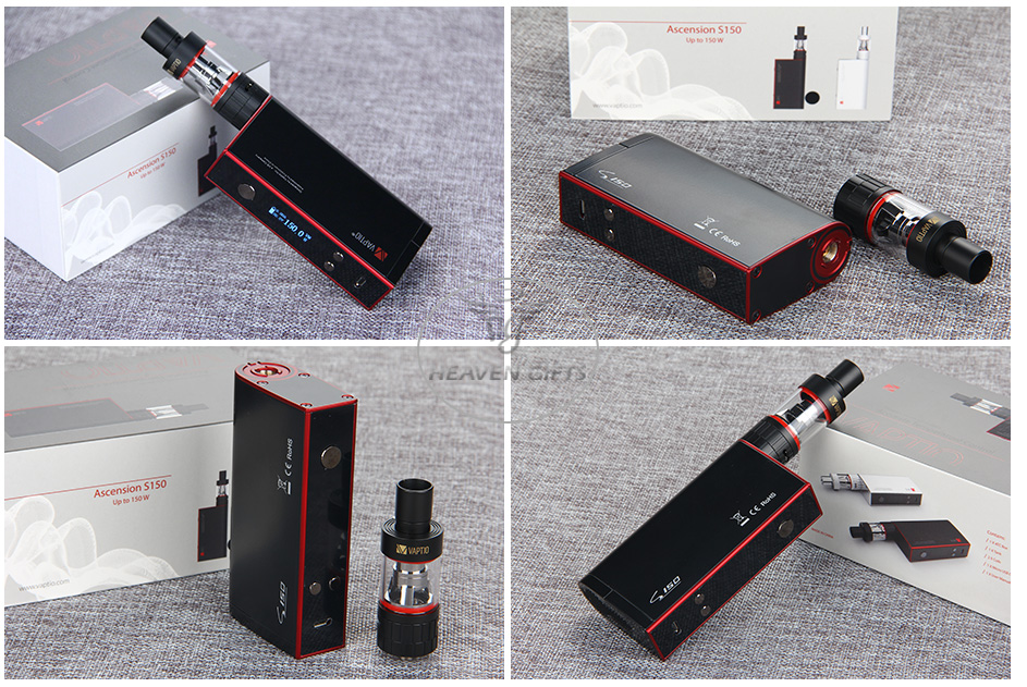 Vaptio S150 ATC Full Kit W/O Battery