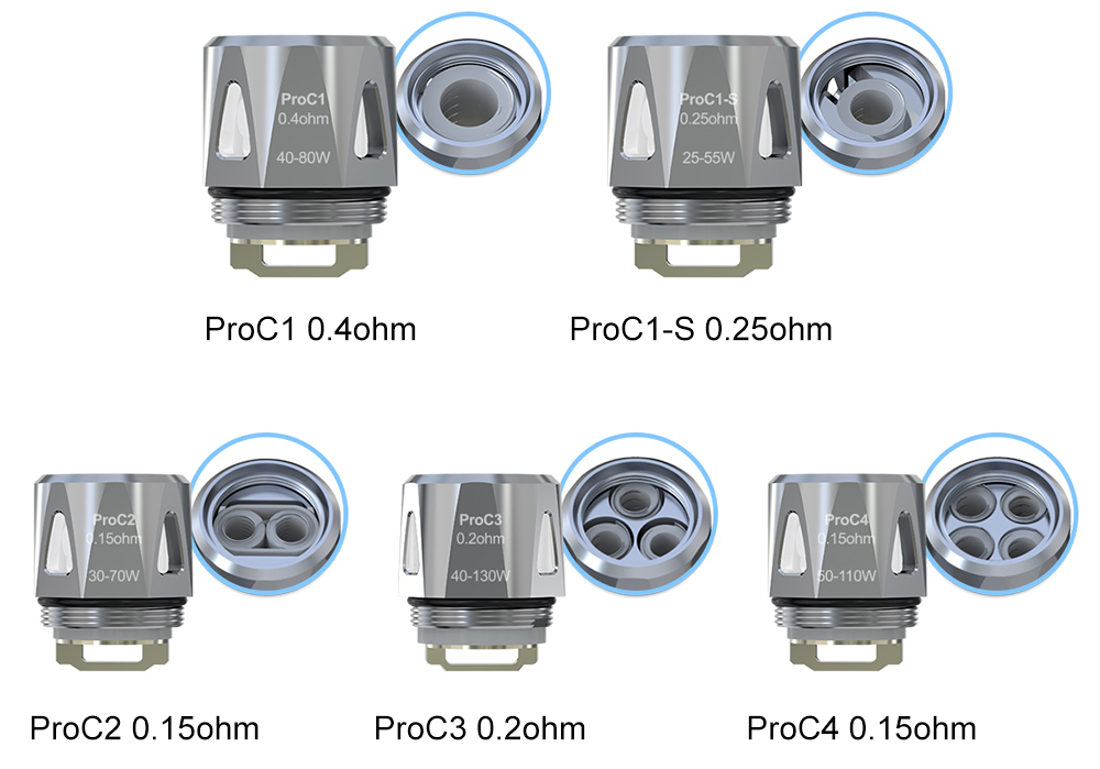 Joyetech ProC Head for ProCore Series Tank 5pcs