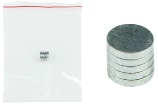 5pcs Magnetic Connection Sheet for Cylinder Li-lon Batteries