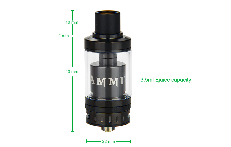 GeekVape Ammit RTA - 3.5ml, Black