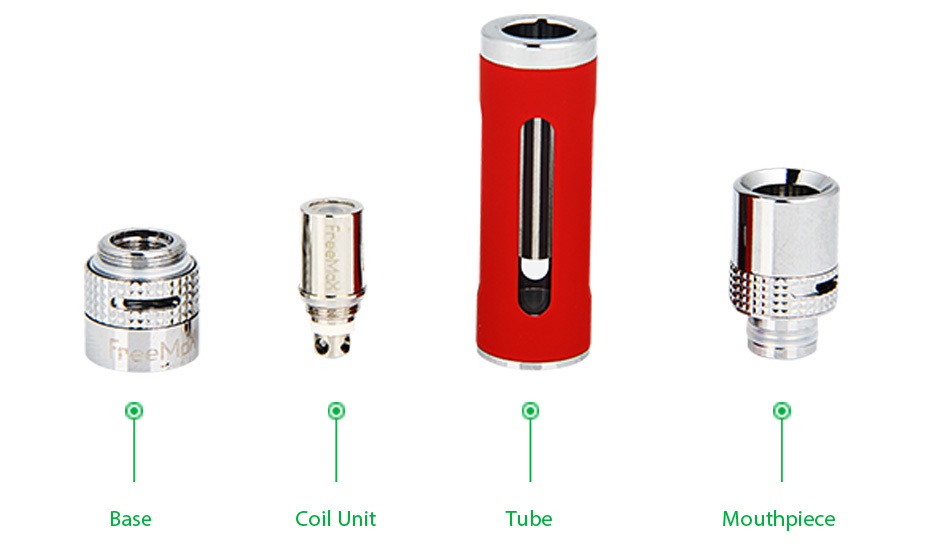 FreeMax iFree20 DVC Atomizer dengan Tip Drip AFC - 1.5ml