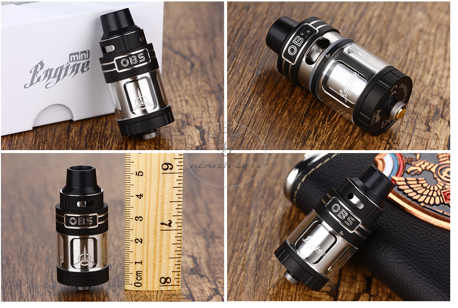 OBS Engine Mini RTA Tank - 3,5 мл, черный