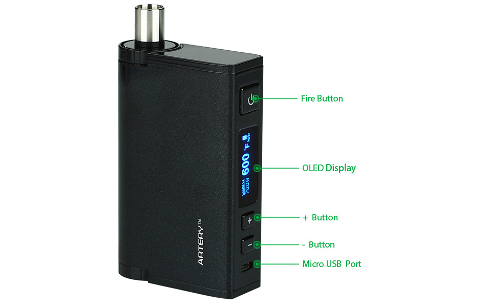 70W Artery Summa TC Starter Kit W/O Battery