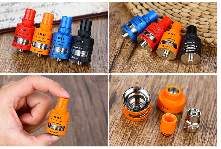 Joyetech CUBIS Pro Mini Atomizer - 2ml, Wrinkle Finish