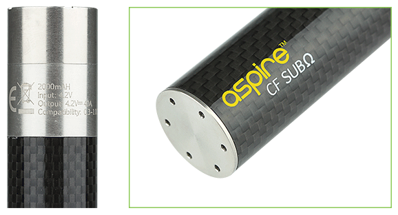 Aspire-CF-SUBΩ-(sub-ohm)-Battery-with-Max-40A-Current,-2000mAh