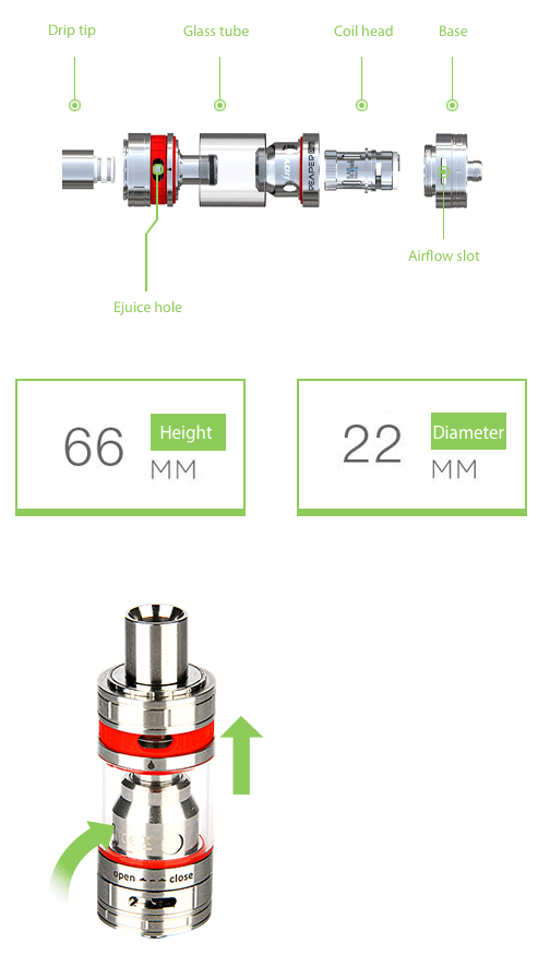 IJOY Reaper Plus Tank Kit - 3.8ml