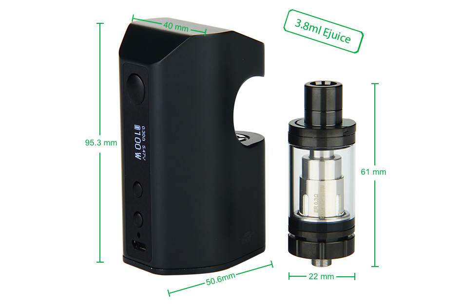 100W Eleaf Aster RT with Melo RT 22 Full Kit - 4400mAh