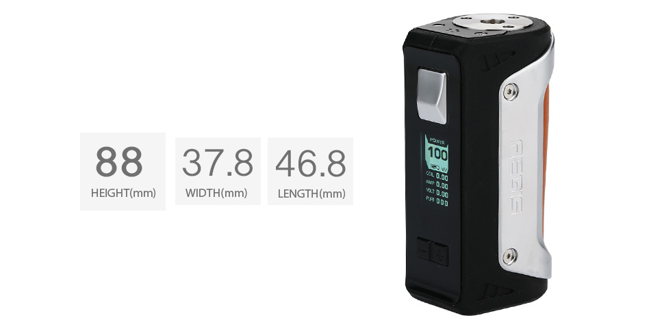 100W GeekVape Aegis TC Box MOD with 26650 Battery - 4200mAh