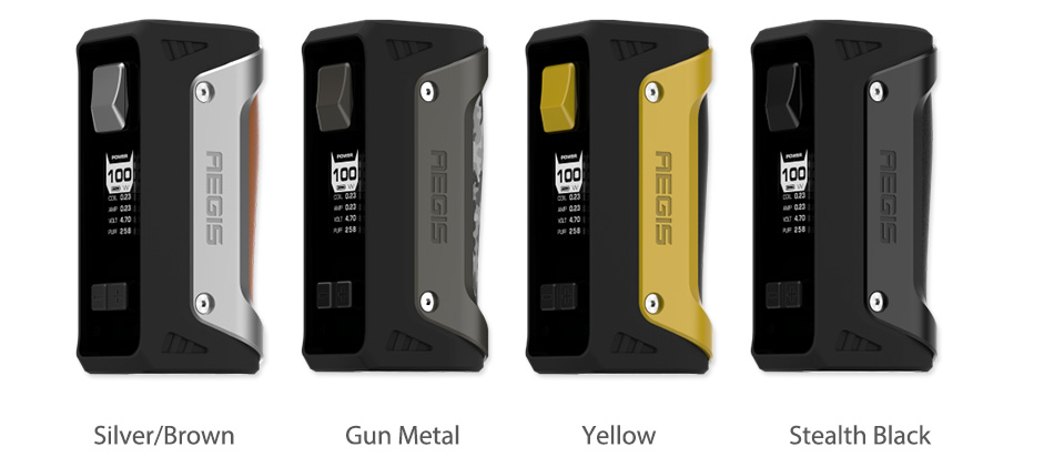 100W GeekVape Aegis TC Box MOD with 26650 Battery