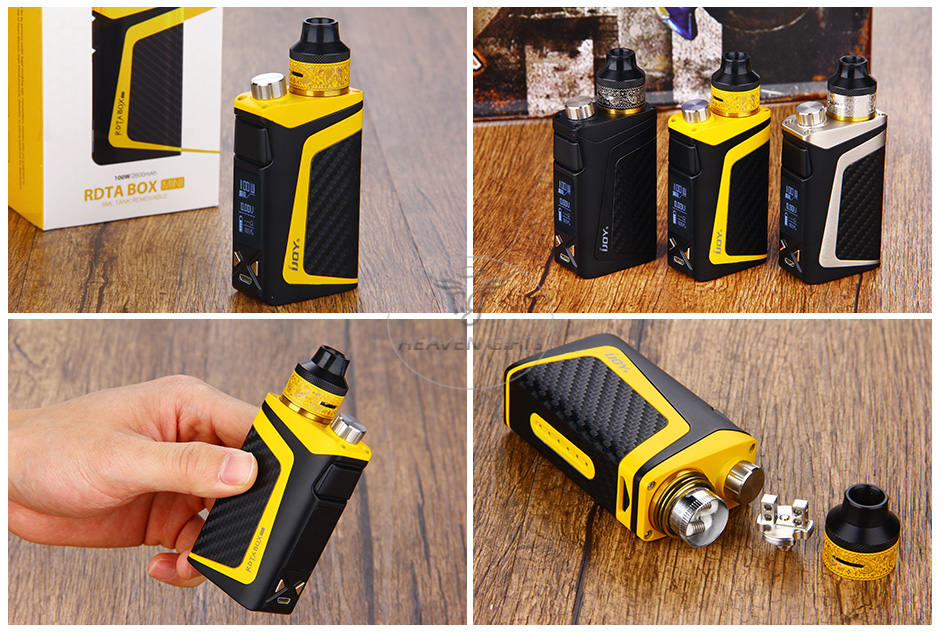 100W IJOY RDTA BOX Mini Full Kit - 2600mAh