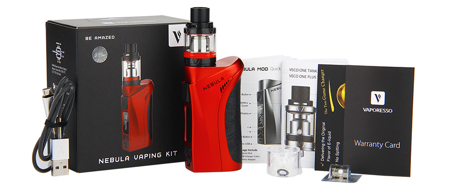 100W Vaporesso Nebula TC Kit with 2ml Veco Plus Tank W/O Battery