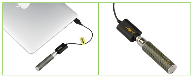 Aspire USB Charger for e-Cigarettes, w_ Cord