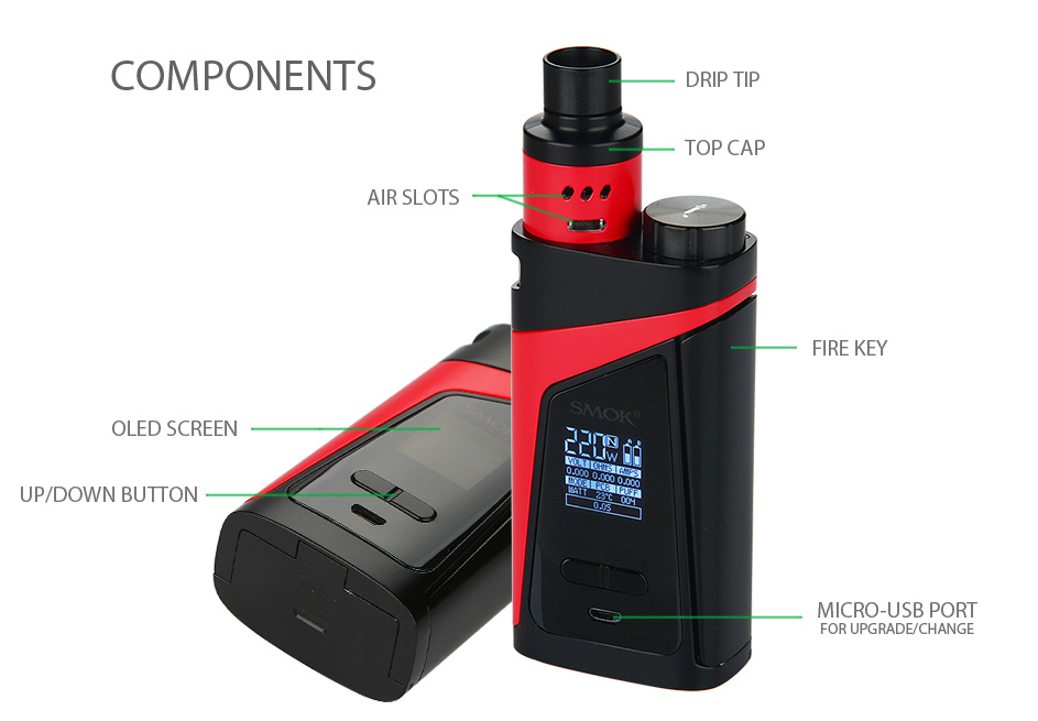 SMOK SKYHOOK RDTA BOX Starter Kit W/O Battery
