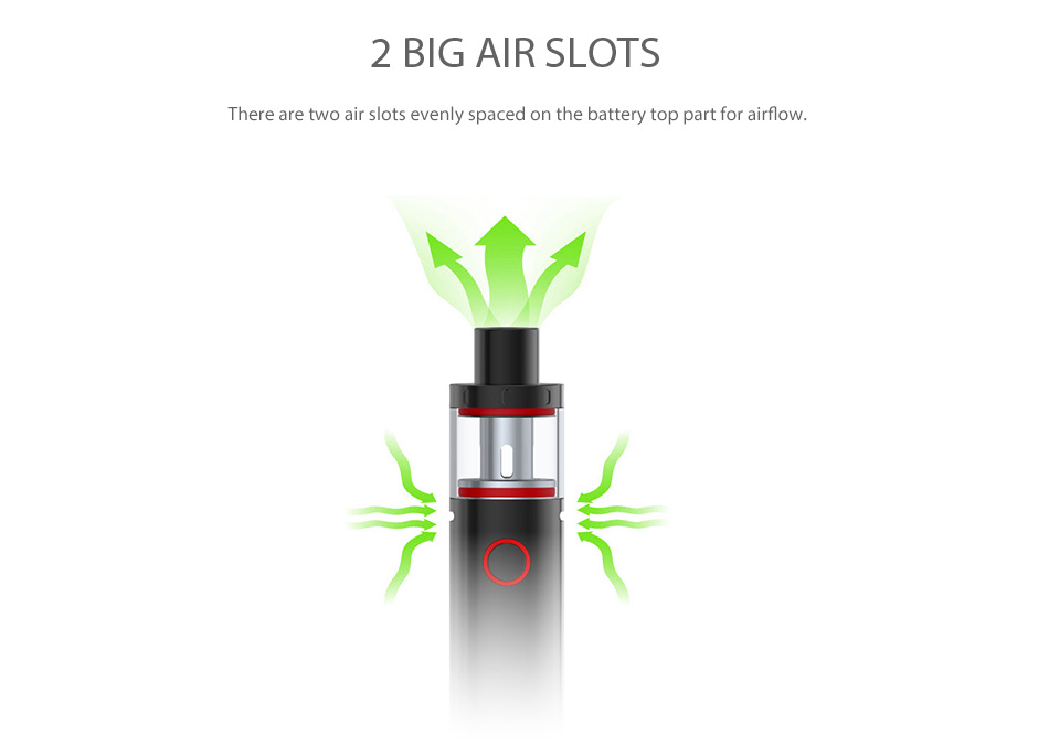 SMOK Vape Pen Plus Starter Kit - 3000mAh, Black & Rainbow