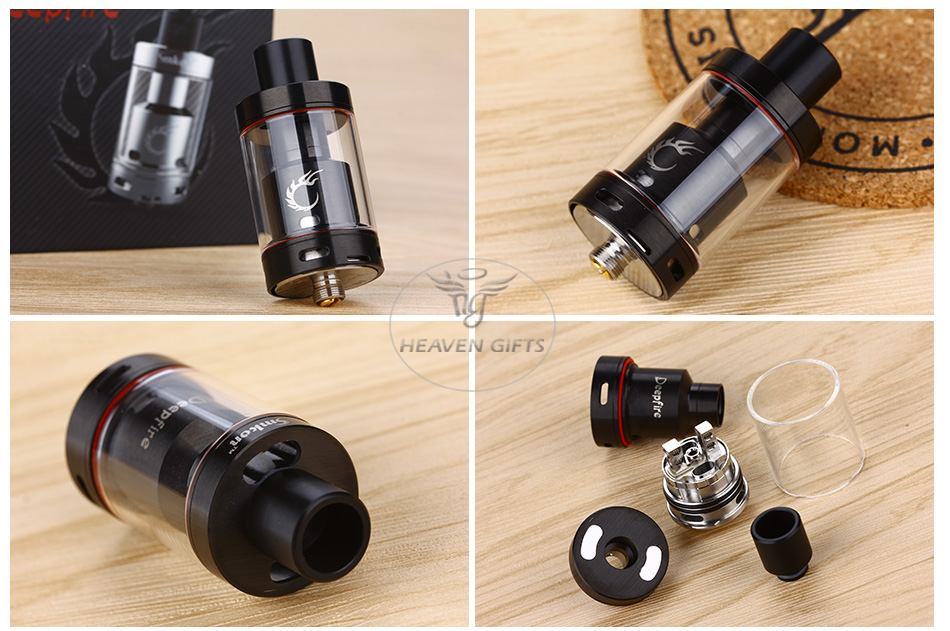 Smkon Deepfire RTA - 4.5ml, Black