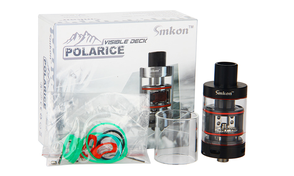 Smkon Polarice RTA - 2ml, Black