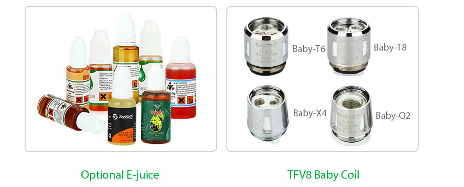 Smok Stick V8 Starter Kit With Tfv8 Big Baby 3000mah Bling Sa