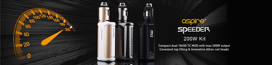 Aspire Speeder 200W TC Kit W / O Battery