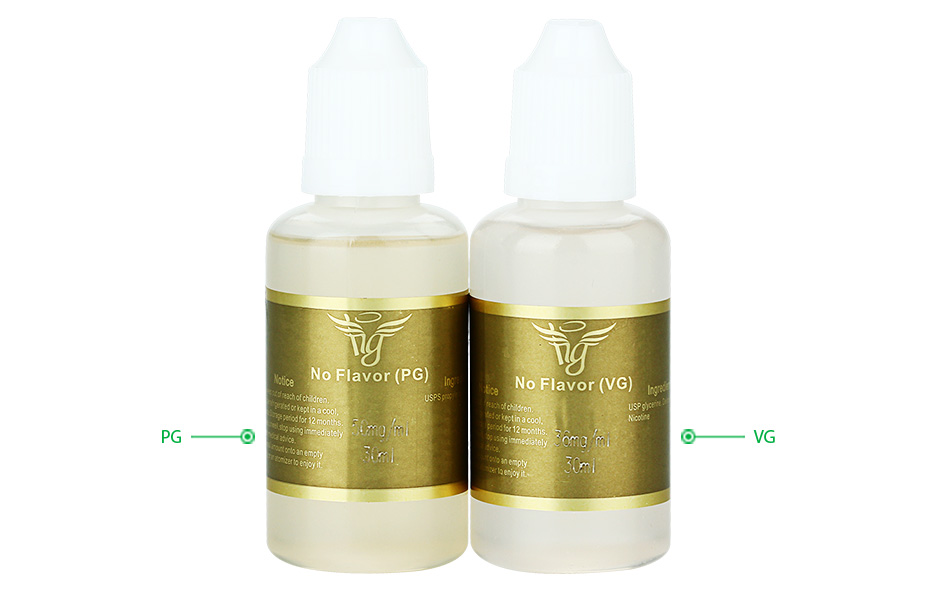 30ml HG 50mg/ml No Flavor E-juice E-liquid