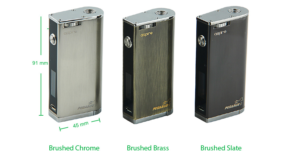 70W Aspire Pegasus 18650 VW/TC Box MOD, W/O Battery​​