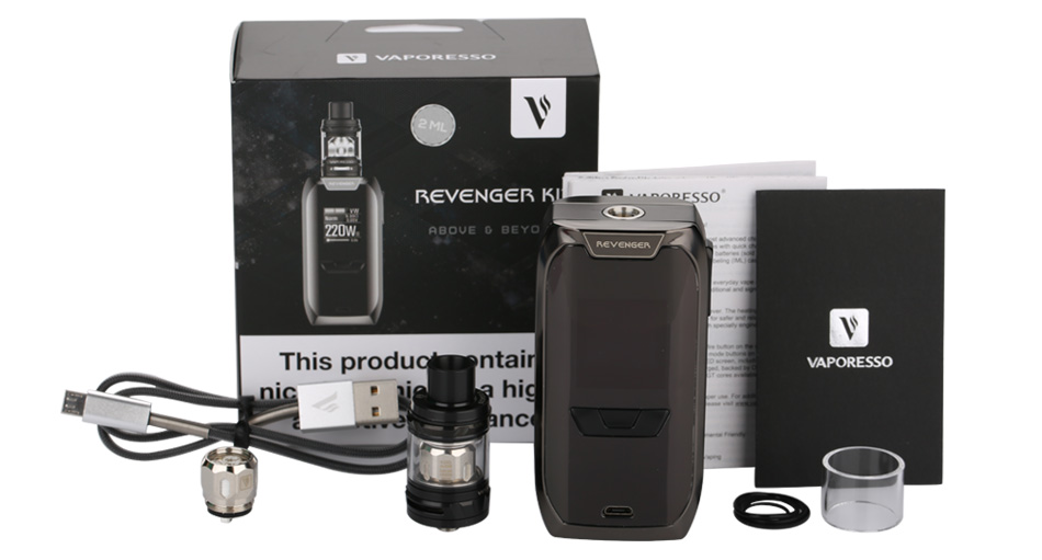 220W Vaporesso Revenger TC Kit with NRG Mini W/O Battery