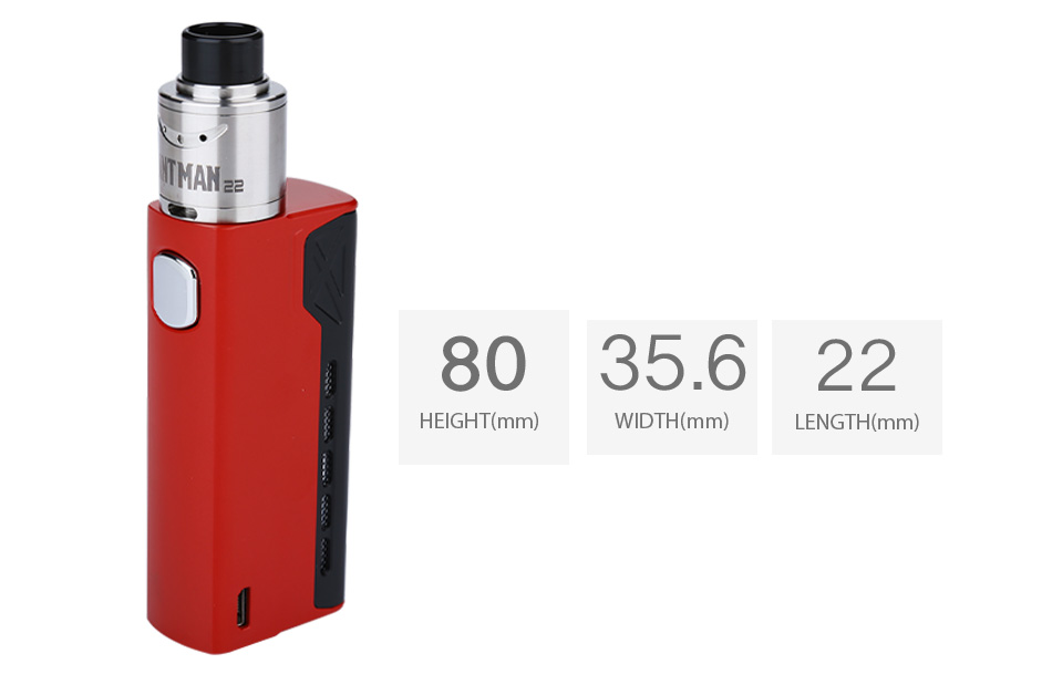 Tesla Terminator with Antman 22 RDA Kit W/O Battery