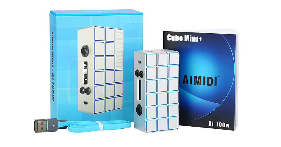 AIMIDI Cube Mini + Ai100W TC Box MOD W/O Battery