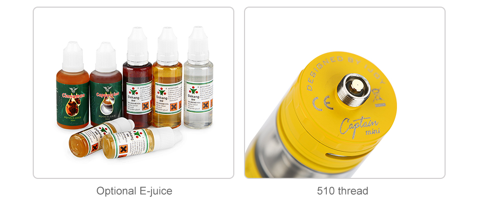IJOY Captain Mini Subohm Tank - 3.2ml & 2ml