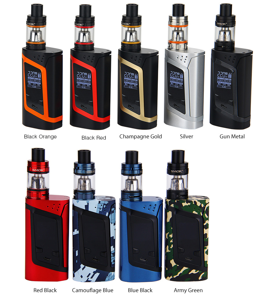 220W SMOK Alien Kit with TFV8 Baby