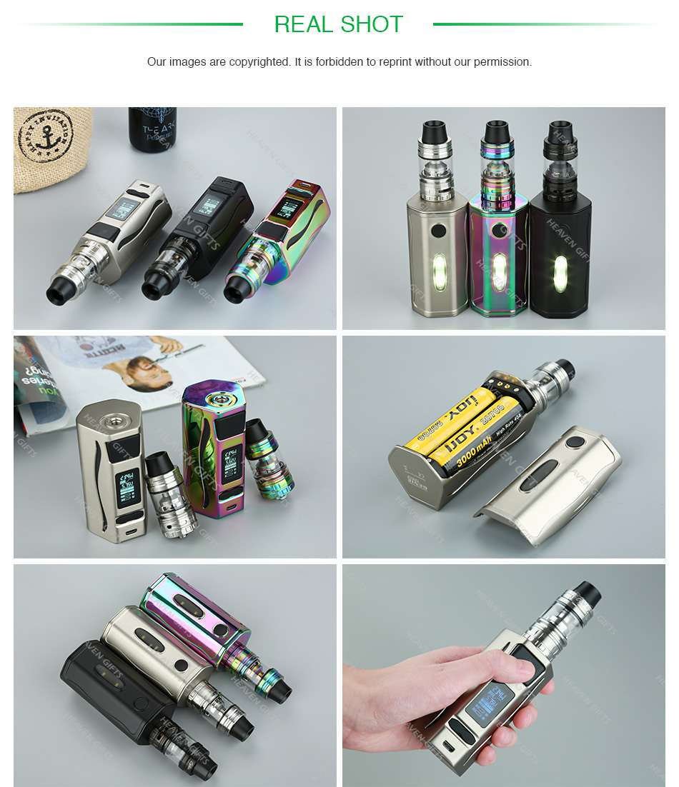 234W IJOY GENIE PD270 with Captain S TC Kit with 20700 Battery