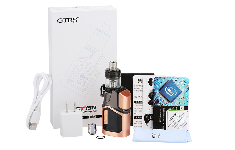 150W GTRS GT150 TC Kit - 4000mAh