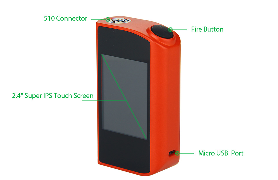 150W Tesla Touch TC Mod W / O Battery