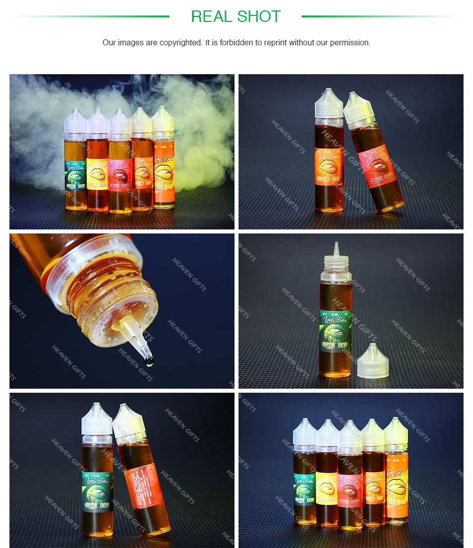 Love Bites Mango Man/Honey Man/Clear Sky/Green Dew/Donutberry PG+VG E-liquid E-juice 60ml
