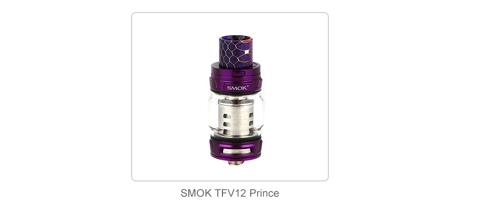 SMOK Bulb Pyrex Glass Tube # 2 para TFV12 Prince 8ml 3pcs