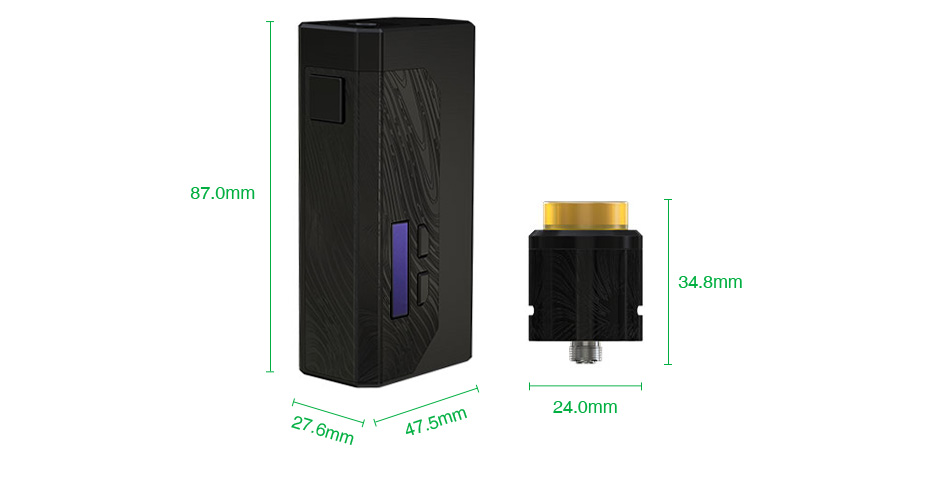 WISMEC Luxotic MF Box VV Kit with Guillotine V2(with Screen)