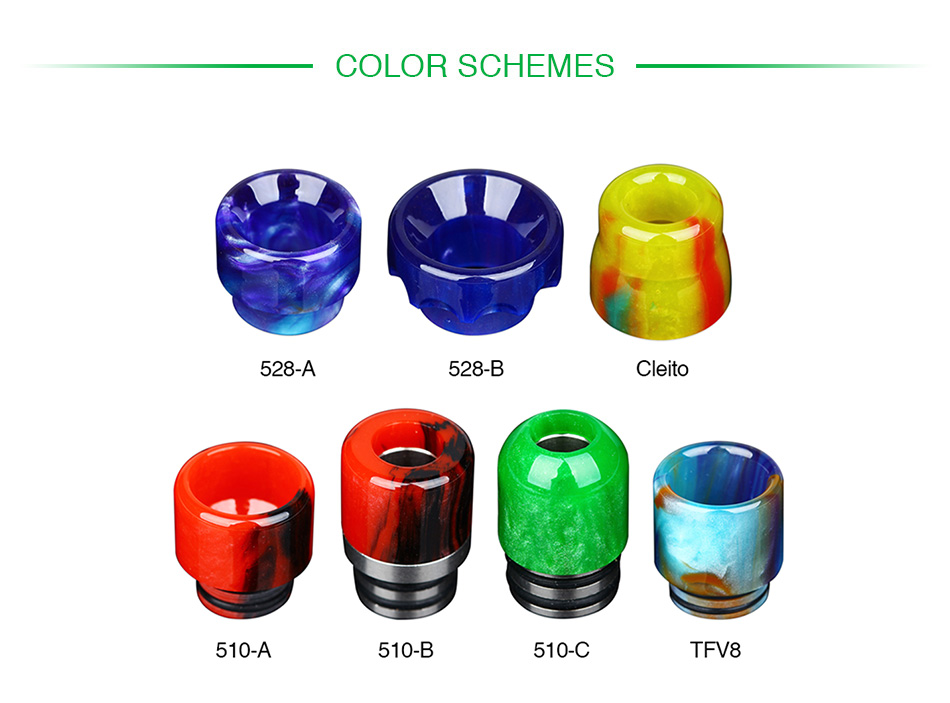 Demon Killer Magic Resin Drip Tip