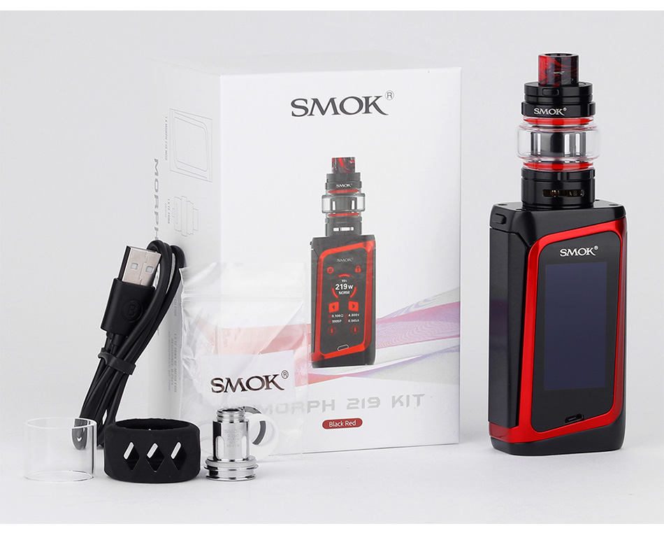 SMOK MORPH 219W TC Kit with TF Tank/TFV Mini V2 Tank