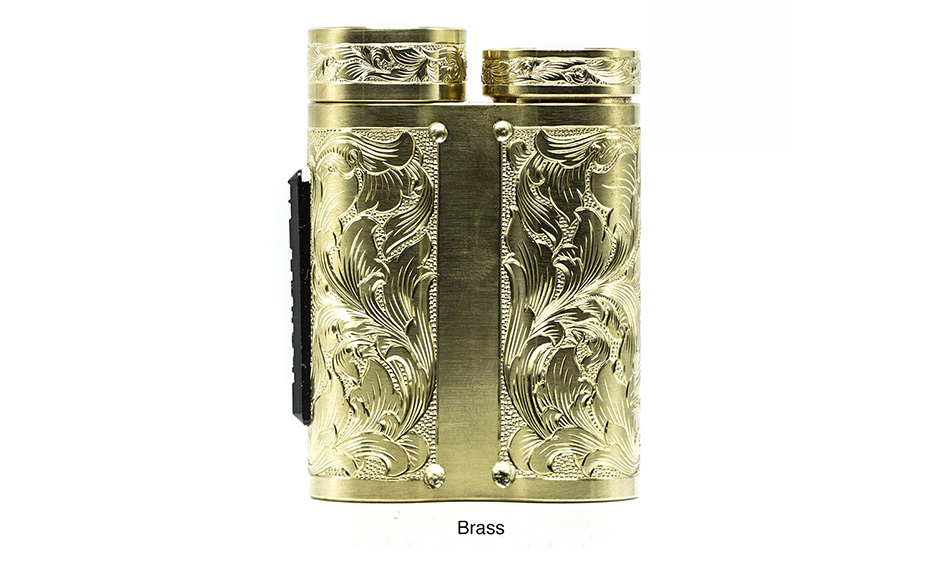 Purge Mods Side Piece Mech MOD Hand Engraved Scroll Edition