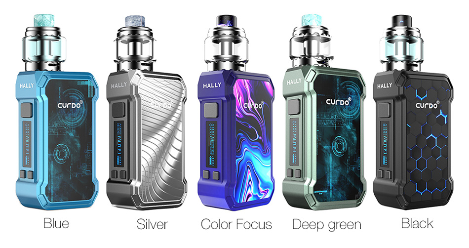 [With Warnings] Curdo Hally 60W TC Kit