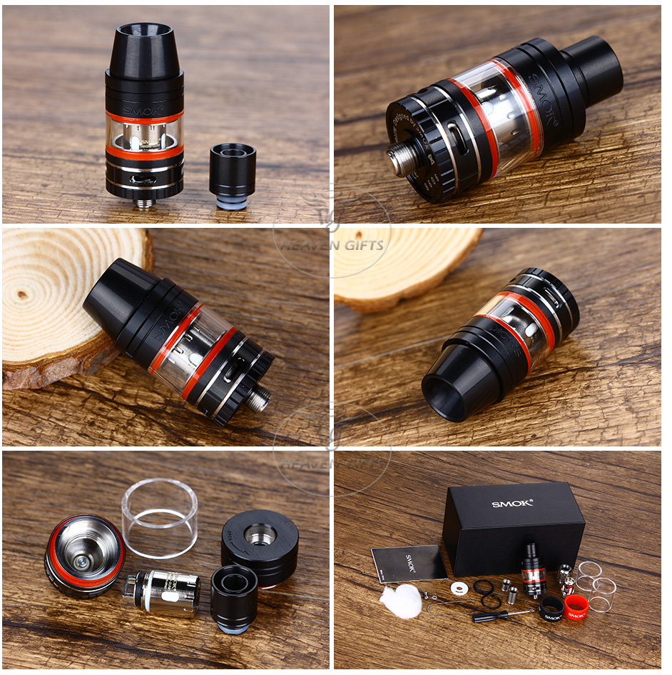 SMOK Micro TFV4 Tank Kit - 2.5ml, Black