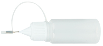 10ml LDPE Semi-Transparent Empty Bottle with Metal Needle Tip