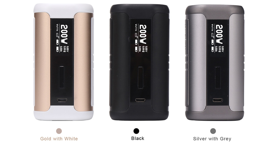 200W Aspire Speeder TC MOD W/O Battery