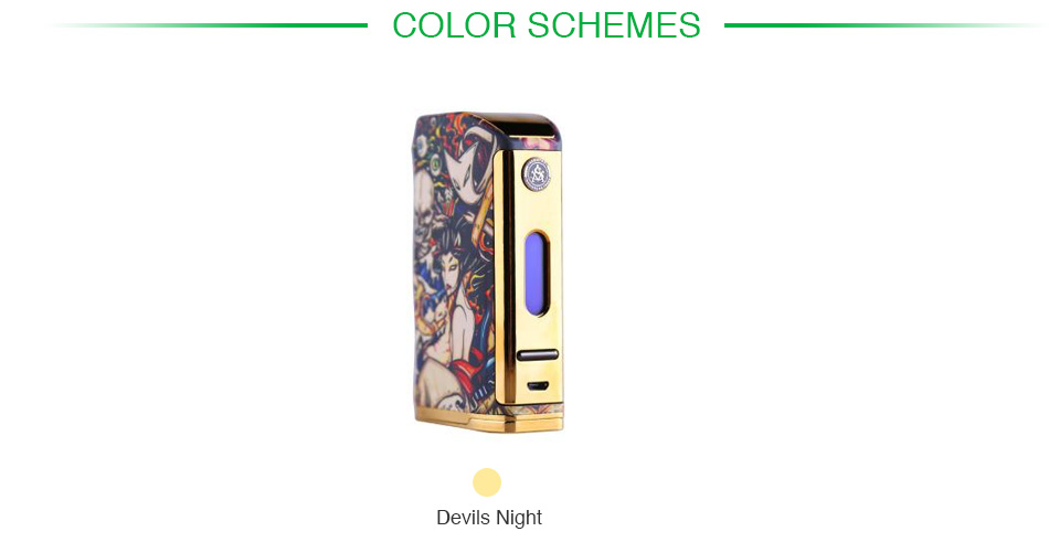 200W Asvape Michael TC Box MOD