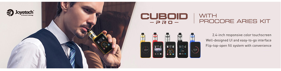 200W Joyetech CUBOID PRO Touch Screen TC MOD W/O Battery