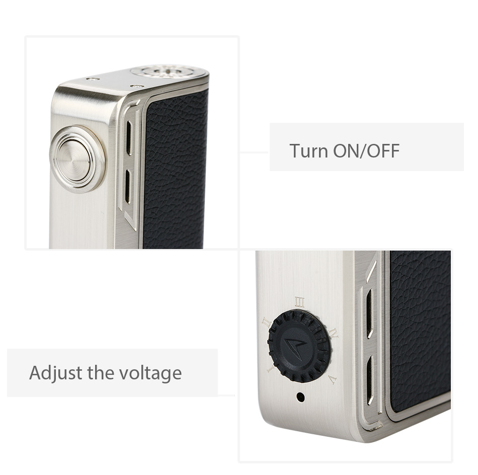 218W Smoant Charon Adjustable VV Box MOD W/O Battery