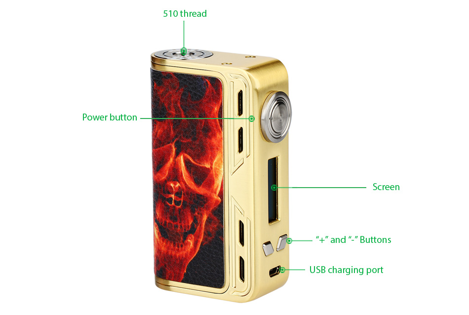 218W Smoant Charon TC 218 Box MOD W/O Battery