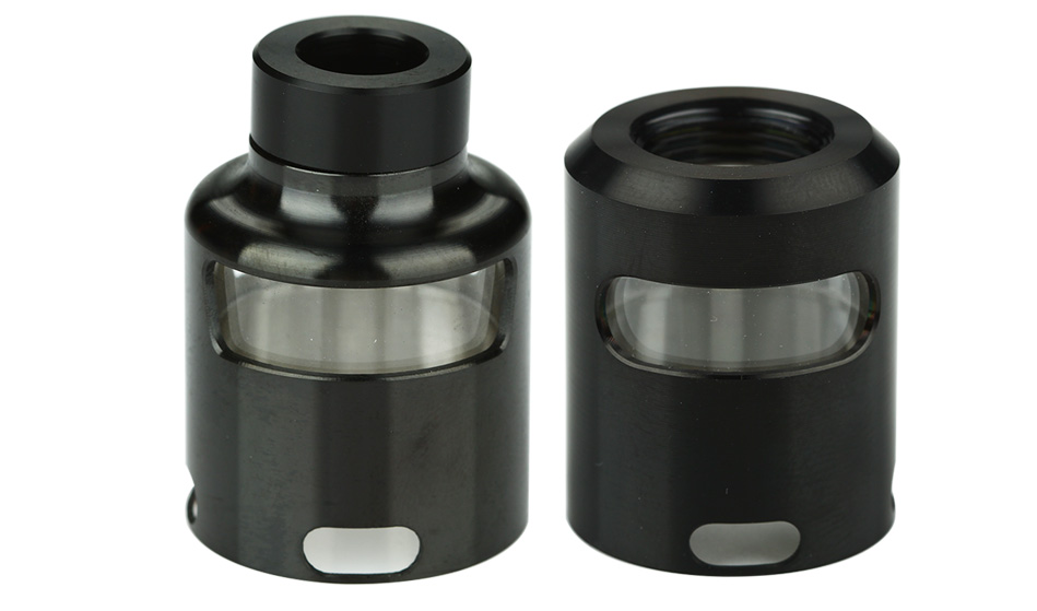 GeekVape Tsunami 24 Glass Window Top Cap - Black