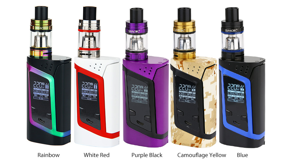 220W SMOK Alien Kit dengan TFV8 Baby W / O Battery.jpg