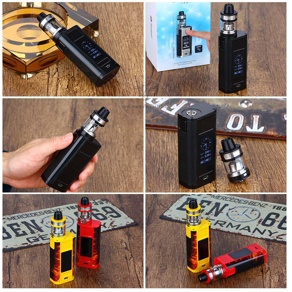 228W Joyetech CUBOID TAP with ProCore Aries TC Kit W/O Battery