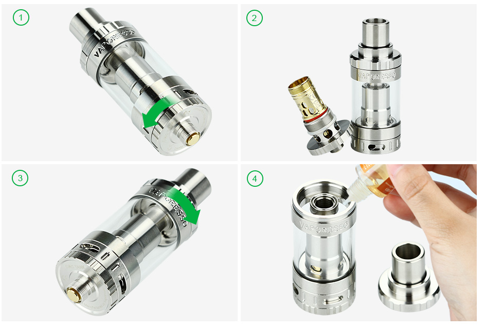 Vaporesso ORC Tank - 3.5ml, Steel